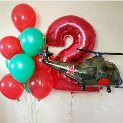 Шары на день рождения ребенку 2 года дома thumbnail