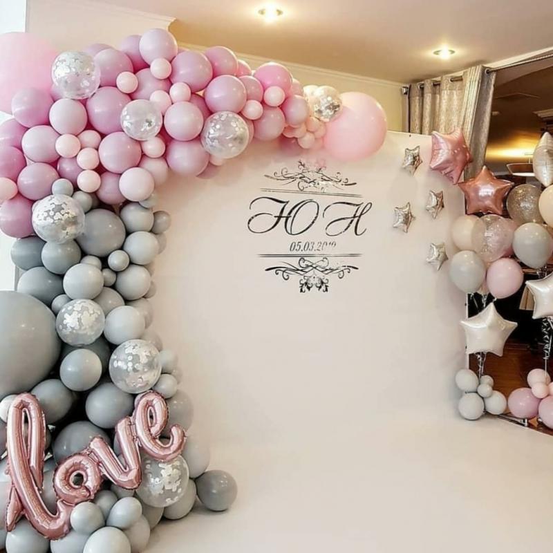 главное фотозона на свадьбу из шаров сможете